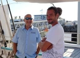 Pas mal Greg et le directeur du port