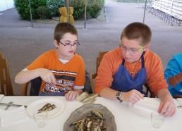 Les cuistos passent à table