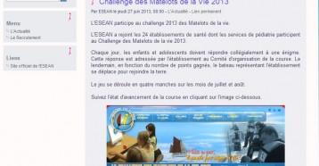 Challenge des Matelots de la Vie 2013, ESEAN 27/06/2013