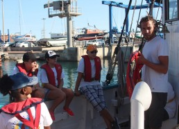 Greg le capitaine, la sécurité sur le pont