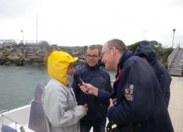 Les matelots interviewés par Radio Fidelité