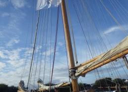 Le Bora Bora enfin à quai au port