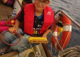 Hugo à la pêche