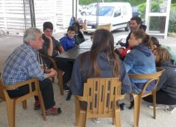 Retour au Razay pour une réunion barbecue avec Rino et Yann