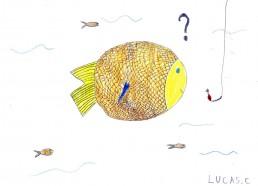 Concours dessin : Mon plus beau poisson - Lucas - CHR SAINT-NAZAIRE