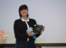 3ème place pour l'Institut Curie. Léa, Matelot 2013, récupère le prix pour son hôpital