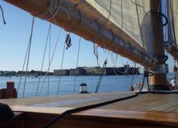 Les matelots quittent Lorient