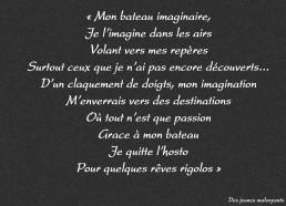 Concours dessins : Mon bateau imaginaire - Institut Curie - Troisième position ex æquo : 3 points