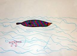 Concours dessin : Mon plus beau poisson - Léa - Hôpital ANDRE MIGNOT - LE CHESNAY VERSAILLES