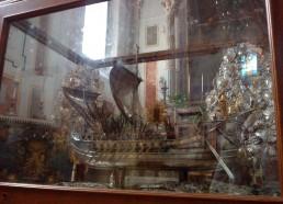 Un ex-voto de la cathédrale de Lipari