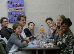 Les Matelots 2017 se retrouvent au dîner