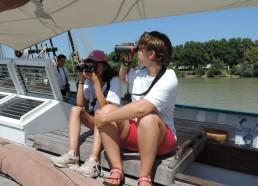 Maelle et Amandine recherchent les castors