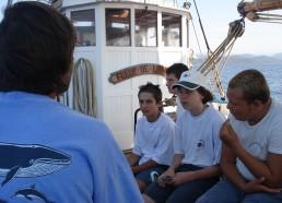 Des matelots attentifs
