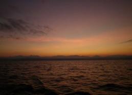 Le soleil se lève durant le quart de 6h à 9h