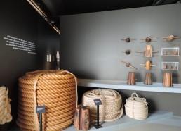 Exemple de cordages fabriqués