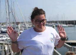 Ludivine est une ancienne matelote avant de devenir encadrante
