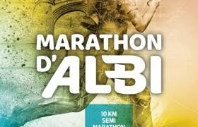 Affiche Marathon Albi 2019