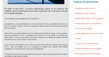 16 Jeunes Matelots De La Vie En Entraînement À Piriac Sur Mer (44), Actu Nautique 06/05/2013