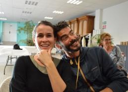 Elsa et Yann, membres de Matelots de la Vie et anciens chefs d'expéditions