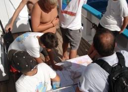 Etude de la carte marine