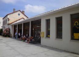 La gare de Calvi (Chemin de fer Corse)