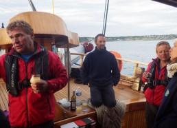 Lucky et Chrystel d'Archipel Excursions