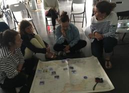 Découverte du parcours de l'expédition de JUILLET 2019 par les encadrants
