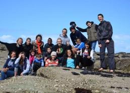 Les Matelots 2013 et les encadrants