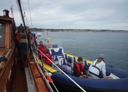 Archipel Excursions vient chercher nos matelots