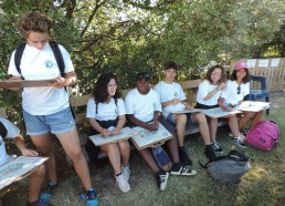 Les Matelots sont prêts à visiter les Salines d'Olonne
