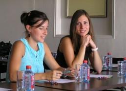 L'équipe de Caen lors de la réunion