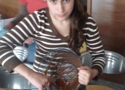 Louisa et son gâteau