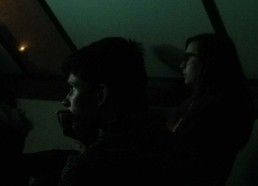 Florian et Louise sont captivés par le reportage