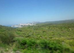 Bonifacio au loin