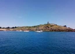 Arrivée aux Îles Chauzey
