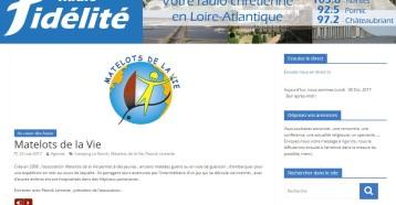 Au cœur des assos : À la rencontre de Matelots de la Vie, Radio Fidélité, 23 mai 2017