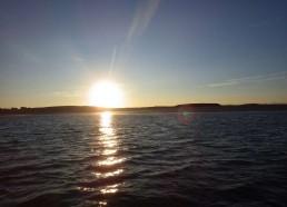 Le soleil se couche sur Houat
