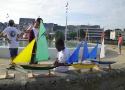 3 des bateaux concernés par la « course »