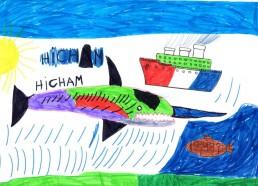 Concours dessins : Mon bateau imaginaire - Hicham - Centre d
