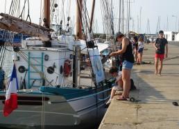 Nos apprentis pêcheurs s'amusent
