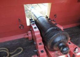 Un canon sur le pont