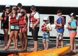 Les Matelots à la découverte d'activités nautiques