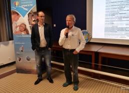 Le Docteur CHAUVE parle du Challenge avec Sébastien, le webmaster