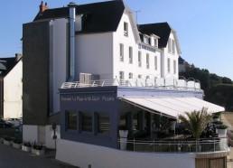 L'hôtel de la plage qui a accueilli la remise des prix 2008