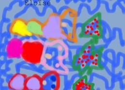 Concours dessin : Mon plus beau poisson - Eloïse - ESEAN Etablissement de Santé pour Enfants & Adolescents de la région Nantaise