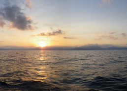 Le Golfe de Sagone au petit matin