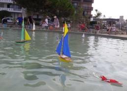 Les bateaux dans le bassin