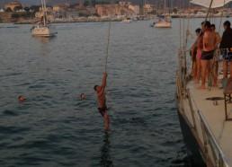 Loïc se jette à l'eau