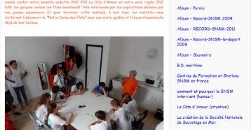 Visite à la station des Matelots de la Vie, Blog SNSM 18/08/2013