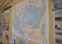 La carte marine du Golfe